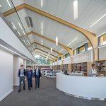 Seamans builders Suffolk create modern school library
